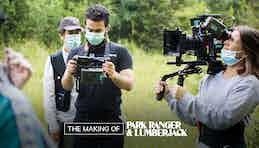 Behind The Scenes: Park Ranger And Lumberjack